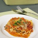 Classic Three Cheese and Vegetable Lasagna