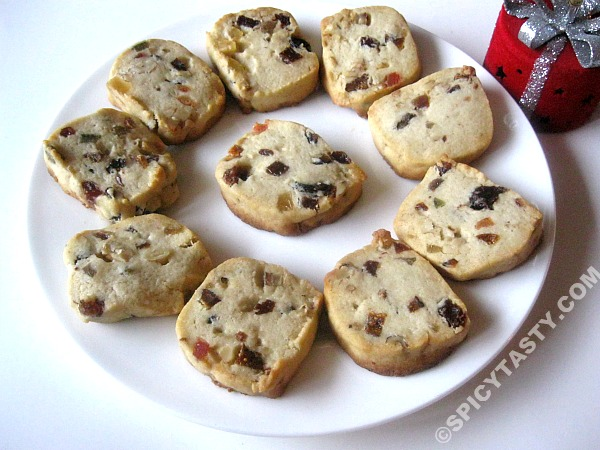 Dry Fruit Cookies Spicy Tasty