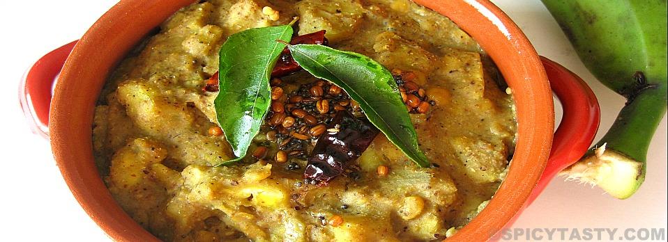 Vazhakkai Kootu – Plantain Curry