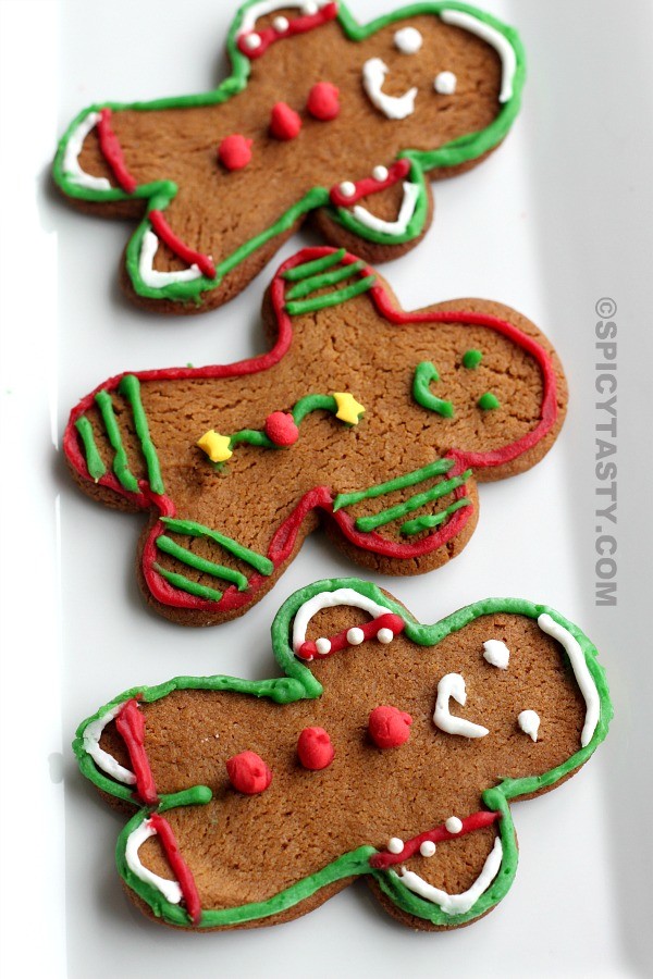 How to make Gingerbread Cookies? | Spicy Tasty