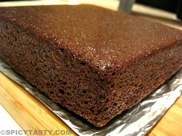 Images Of Eggless Chocolate Cake : Eggless Chocolate Cake with Cream Cheese Frosting Spicy ...