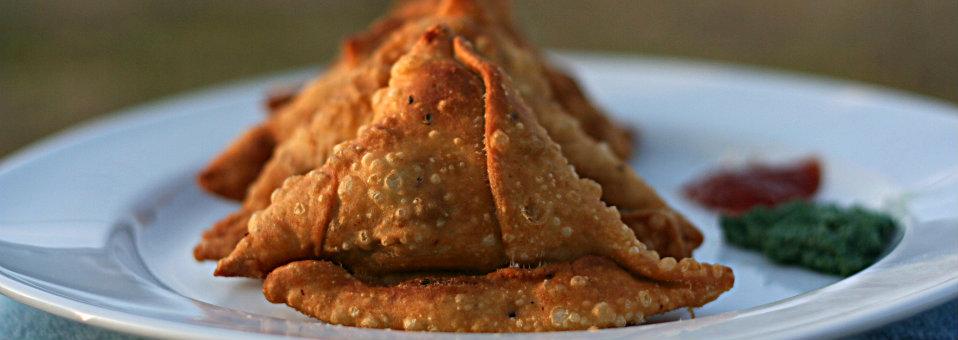 Samosa ( Stuffed Potato Indian Snack )