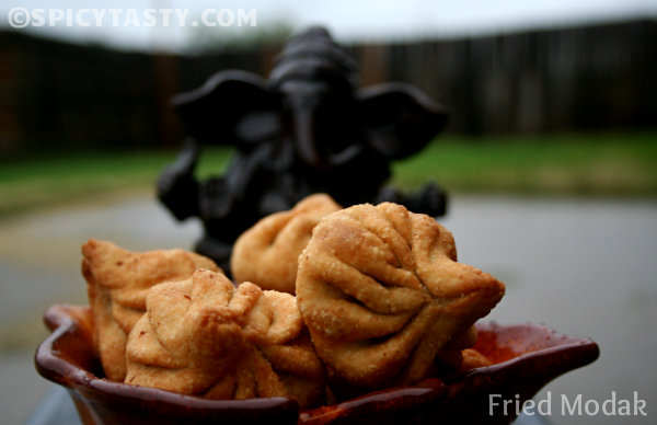 Fried Modak – Step By Step Instructions