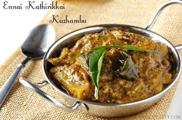 Ennai Kathirikkai KuzhambuSpicy Brinjal Curry Spicy Tasty