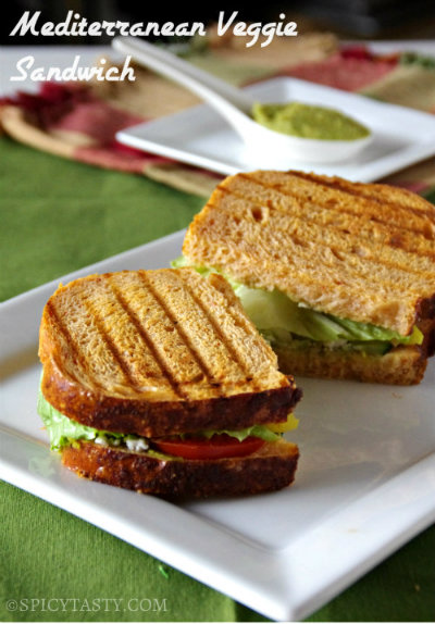 if you like hot grilled sandwich like me then grill the sandwich ...