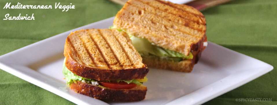 Grilled Mediterranean Vegetable Sandwich Recipe — Dishmaps
