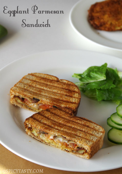 Grilled Eggplant Parmesan Sandwich Recipes — Dishmaps