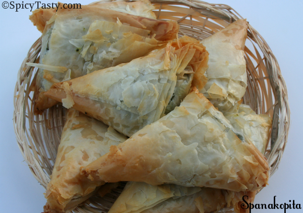Spanakopita / Greek Spinach Pie (Step by Step Procedure)