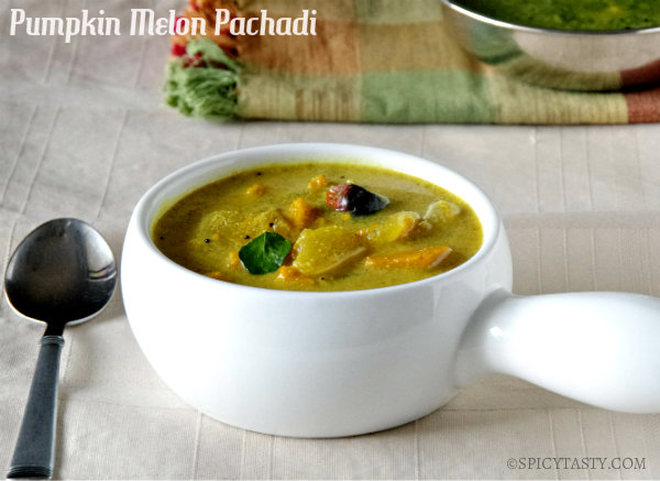Elavan Mathan Pachadi – Pumpkin and Melon Curry
