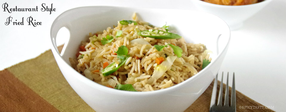 Restaurant Style Fried Rice