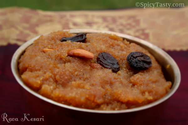 how to make rava kesari with less ghee
