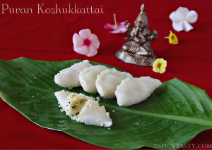 Kara Kozhukkattai for Ganesh Chaturthi