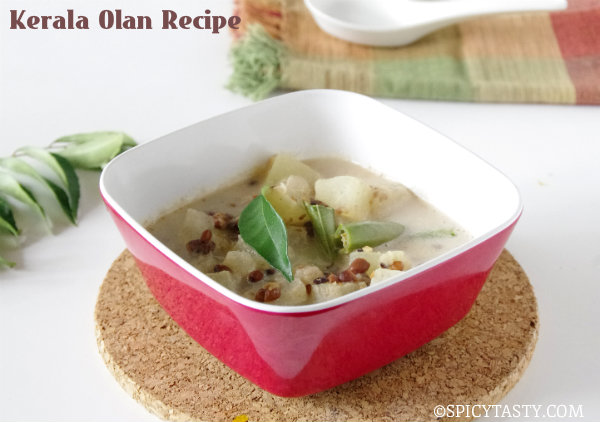 Olan Recipe – Winter Melon Coconut Stew