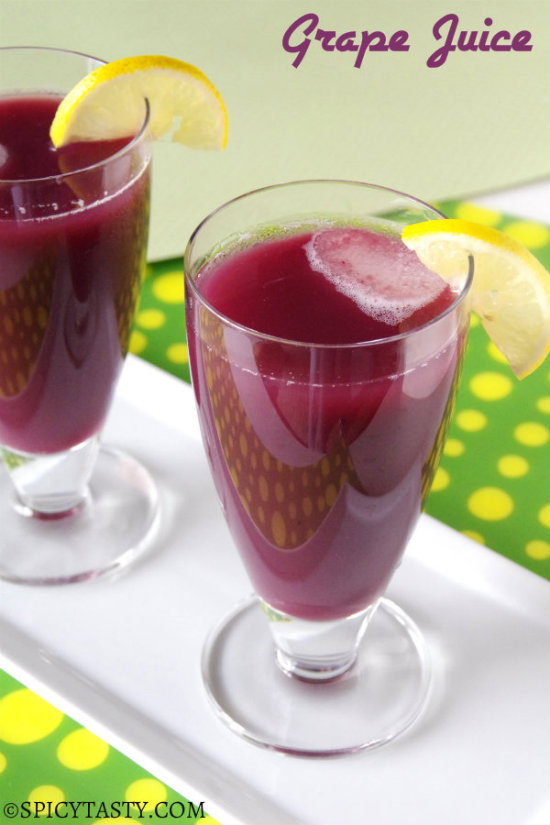 Homemade Grape Juice