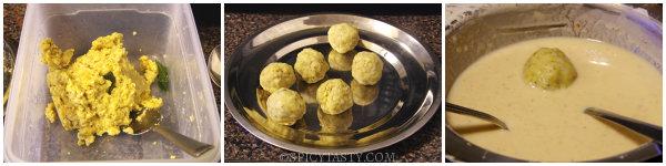 pomoato balls step1