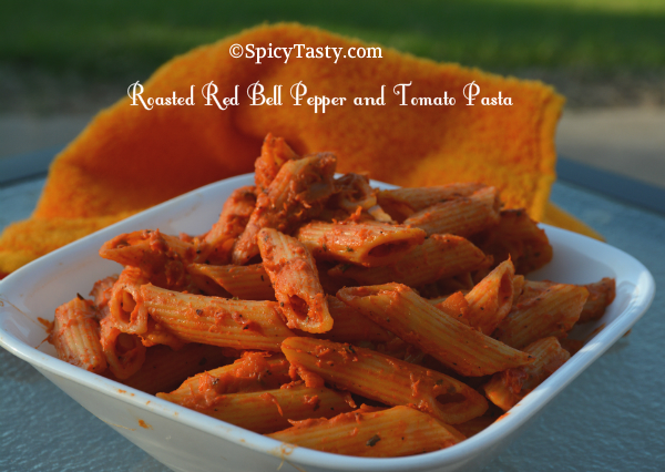 roasted bell pepper pasta1