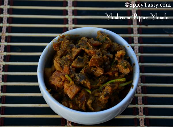 mushroom pepper masala1