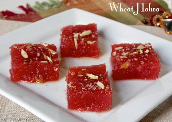 wheat halwa